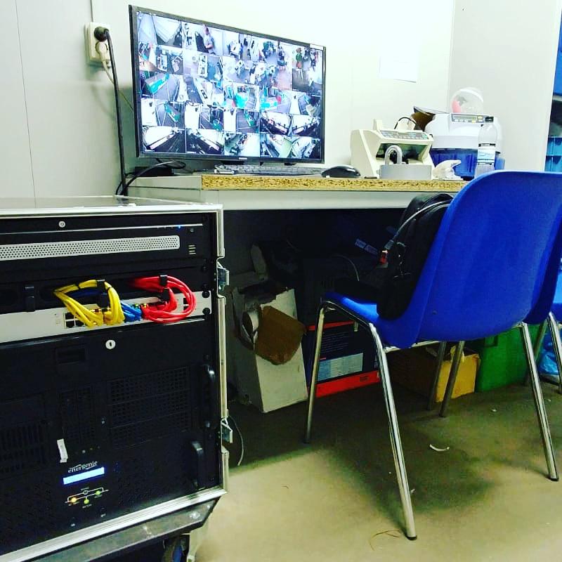 mobiele camerabewaking meldkamer huren
