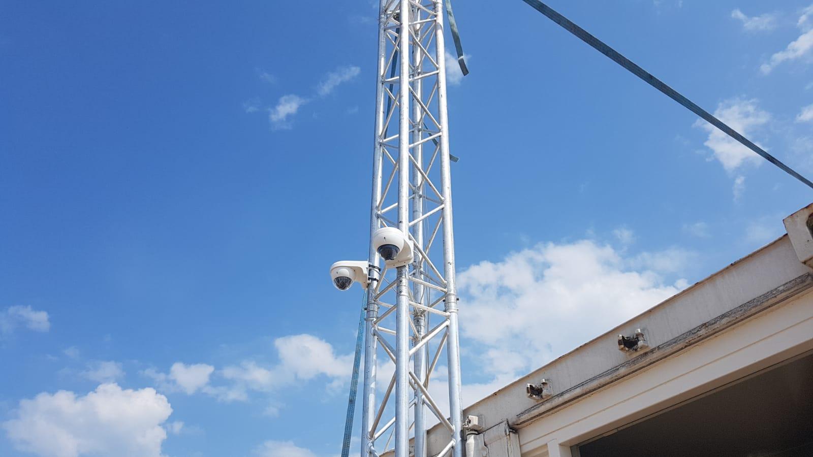 tijdelijke camera bewaking